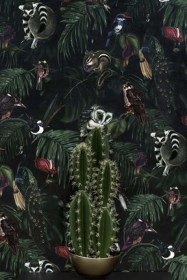 Witch & Watchman Amazonia Wallpaper - Dark
