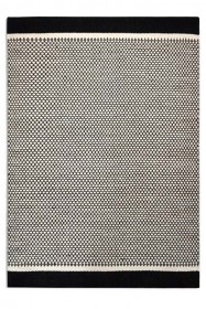 Belle 100% Wool Rug - Black/Natural Honeycomb 04 - 2 Sizes Available