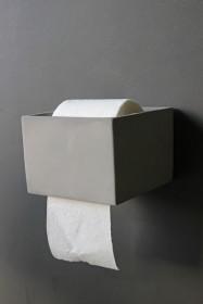 Concrete Toilet Roll Holder