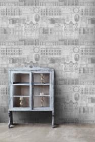 Mind The Gap Vitruvius Wallpaper - 2 Colours Available