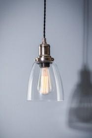 Hoxton Domed Glass Pendant Ceiling Light