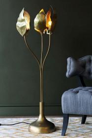 Triple Leaf Midas Forna Floor Lamp