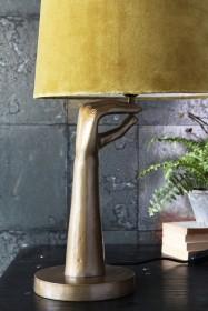 Om Mudra Hand Table Lamp