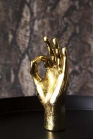 OK Gold Hand Ornament