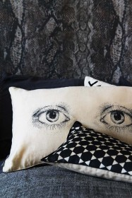 Look At Me Eyes Cushion