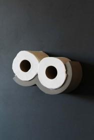 Lyon Beton Concrete Cloud Toilet Roll Shelf - XS