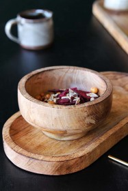 Mango Wood Small Bowl