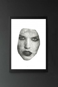 Masked 2 VII Art Print By Amber Devetta