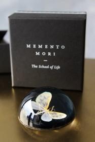 Memento Mori Paperweight - Moth Print