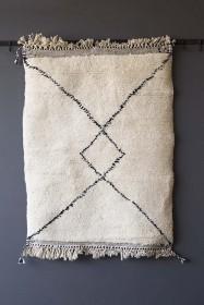 Original Moroccan Berber Bedside Rug - Riad