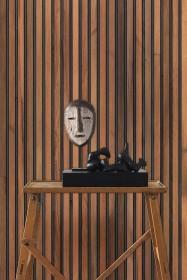 NLXL TIM-01 Timber Strips Wallpaper by Piet Hein Eek