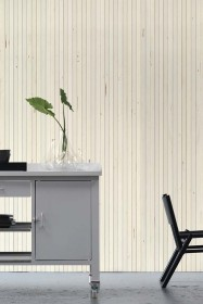 NLXL TIM-07 Timber Strips Wallpaper by Piet Hein Eek