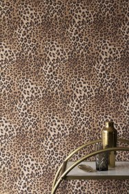 Rockett St George Leopard Love Wallpaper