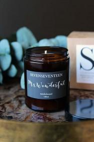 Mr Wonderful Sandalwood Candle