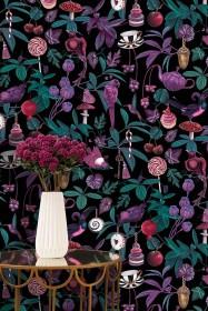 Witch & Watchman Belladonna Dark Wallpaper