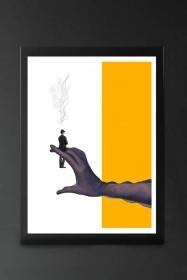 Unframed You Are My Addiction Art Print by Maya Mladenovic
