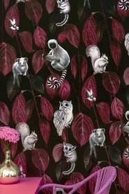 Witch & Watchman Siberia Wallpaper - Dark