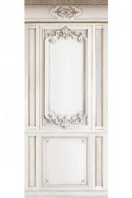 Trompe L'Oeil Velvet Wall Covering - Panels