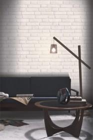 Koziel White Brick Wallpaper