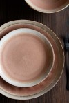 Rose Pink Pottery Side Plate