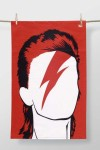 Rock Icon Tea Towel - David Bowie
