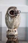 Hand Painted UK Made Owl String & Scissor Holder