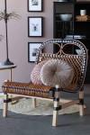 Beautiful Rattan Lounge Chair - Black & Natural
