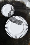 Whale Dinner & Side Plate Set