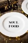 Soul Food Fine China Plate