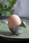 Squirrel Silver Egg Cup