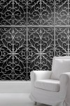 Young & Battaglia Wrought Iron Metal Gate Wallpaper