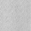 Anaglypta Derby Wallpaper - White