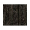 square detail image of Koziel Charred Wood Boarding Wallpaper dark wooden panel repeated pattern