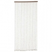 square cutout image of Shell Door Curtain on white background