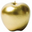 Fabulous Gold Apple Candle