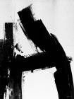 Framed 50x70 Monochrome Abstract Alphabet A-Z Art Print