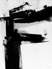 Unframed 50x70 Monochrome Abstract Alphabet A-Z Art Print
