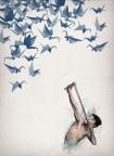 cutout image of Unframed Lucky Shot Fine Art Print
