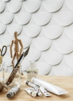 Engblad & Co Front Cut Edge 3D Wallpaper - 2 Colours Available