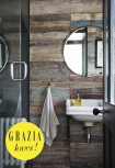 Reclaimed Wood Floor Tiles bathroom lifestyle image