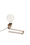 cutout image of Brass Clip-On Table Light on white background