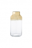 cutout image of Cabrillo Gold Top Vase on white background