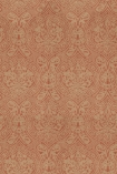 detail image of Mind The Gap Damask Wallpaper subtle red orange toned pattern
