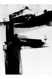 Framed 60x80 Monochrome Abstract Alphabet A-Z Art Print
