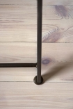 Close-up image of the foot on the Bathroom Mirror Ladder Storage Unit