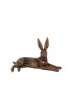 cutout image of Golden Hare Ornament on white background