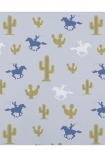 cutout image of Hibou Home Cactus Cowboy Children's Wallpaper on white background
