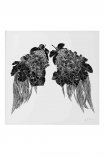 cutout image of Limited Edition Leaf Wings Art Print on white background