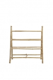 Natural Bamboo Towel Rail cut out front image
