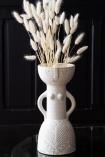 Lifestyle image of the Beautiful Booby Lady Stoneware Vase